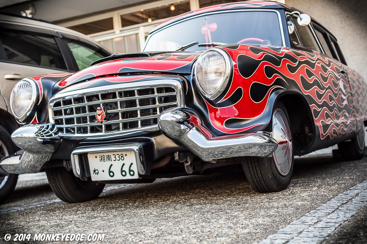 Japanese Trunk Show Kustom Kulture Magazine Hotrod