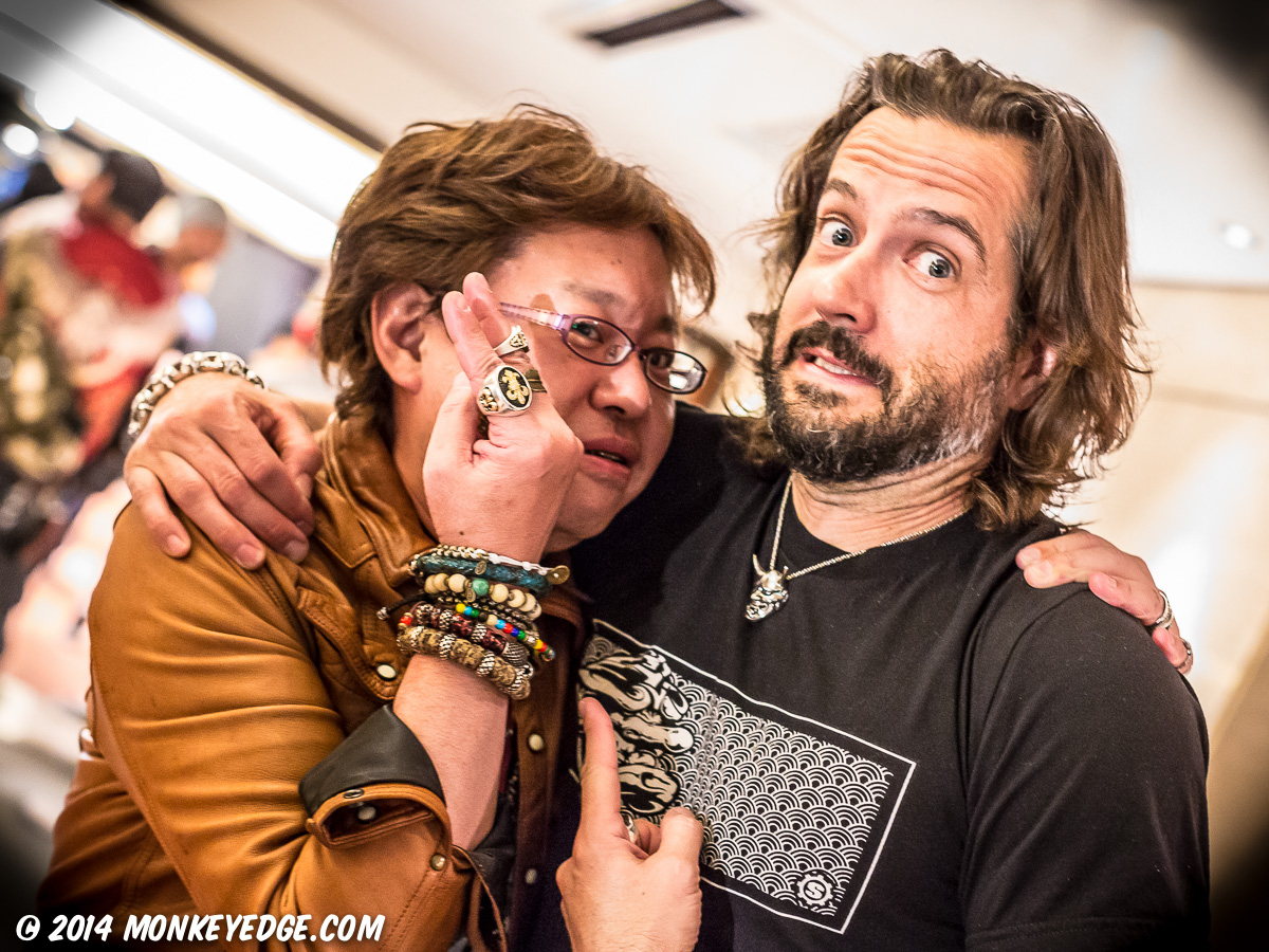 Jade Marsh at Starlingear Japan Trunk Show 2014